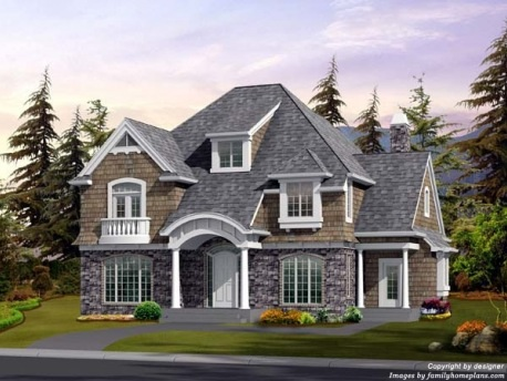 Newly built craftsman series home classic homes for Classic house elevation
