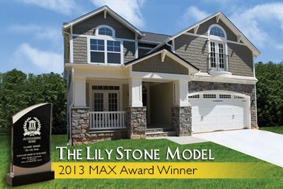 Classic Homes' Lily Stone model received the award for the Best Customized Home in the $400,000-$499,999 category.
