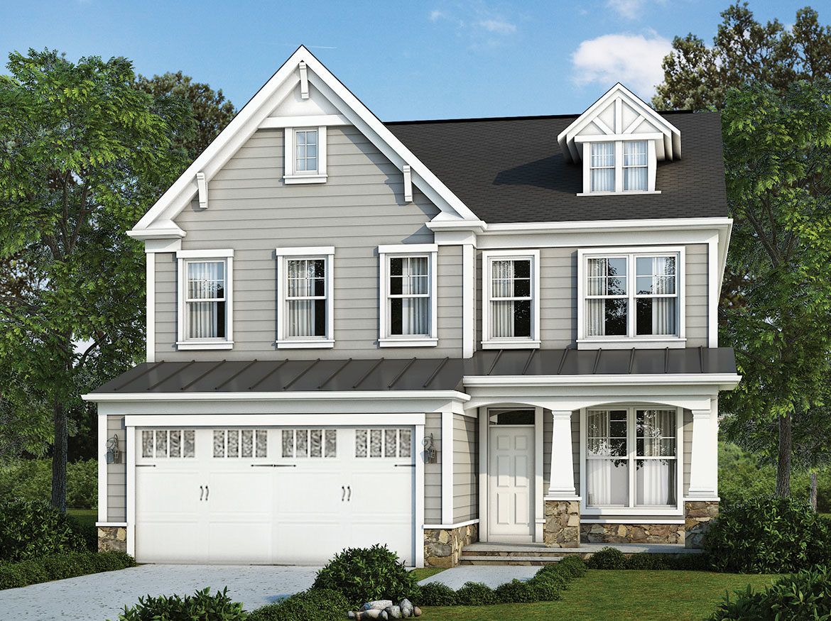 Optional elevation for the Richmond model home.