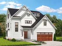 Optional farmhouse style elevation for the Darcy model home.