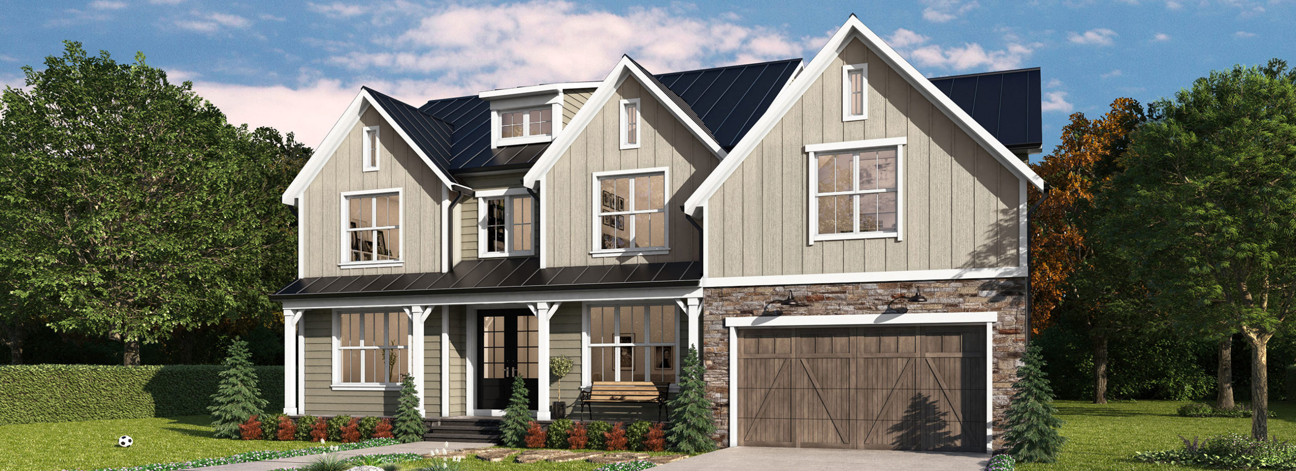 proposed farmhouse style home